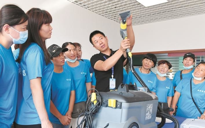 Skill training promotes employment